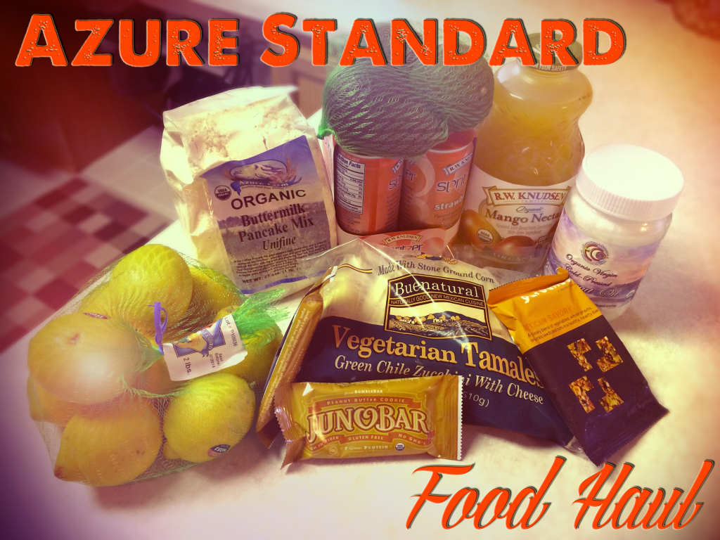 Azure Standard Organic Food Haul June/July