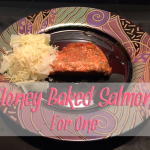 Honey Baked Salmon Recipe for One