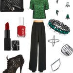 Fantasy Wardrobe Friday: A Holiday Pop of Color